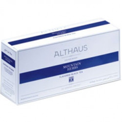Чай Althaus Mountain Herbs, черный, на чайник 20 пакетов