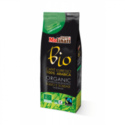 Кофе молотый Molinari BIO Organic Fairtrade 100% Арабика 250г
