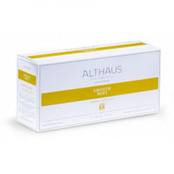 Чай Althaus Smooth Mint, травяной, на чайник 20 пакетов
