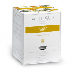 Чай Althaus Lemon Mint,15 пакетов