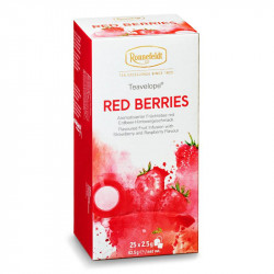 Чай Ronnefeldt Red Berries, фруктовый, на чашку 25 пакетов