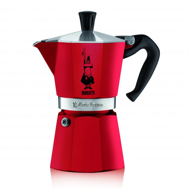 <b>Гейзерная кофеварка Bialetti Moka</b> Express, Эмоции, 6 порций ...