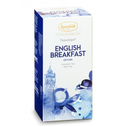 Чай Ronnefeldt English Breakfast, черный, на чашку 25 пакетов